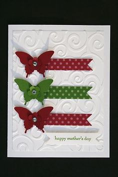 Card Kit-Elegant Butterflies Teeny Tiny Wishes All Occasion w/ Stampin Up prod