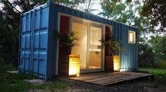 Rápida, económica y funcional ¡Esta es la casa container perfecta! (de Celeste)