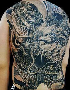 Dragon tattoos for men can symbolize greed, power, duality, intellect, potential, dominion, nonconformity, wisdom and unpredictability. Dragons are magical which gives them infinite potential because there is no limit as to how they represent facets…