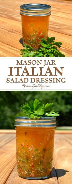 Skip the store bought bottles and shake up your own homemade Italian salad dressing using fresh ingredients. This Italian salad dressing tastes great on leafy salad, adds a zesty zing to pasta salad, and is a delicious marinade for grilled meats. Sauce Recipes, Cooking Recipes, Cooking Tips, Cooking Steak, Cooking Bacon, Cooking Turkey, Pasta Salat, Leafy Salad, Salad Dressing Recipes