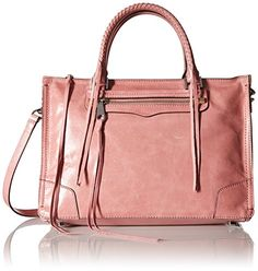 Rebecca Minkoff Regan Satchel Tote Shoulder Bag, Rosa, One Size >>> This is an Amazon Associate's Pin. Find out more about the great product at the image link.