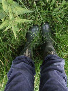 Borrowed boots by knitting iris, via Flickr