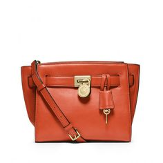 MICHAEL Michael Kors Hamilton Travel Messenger Orange