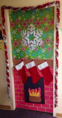 Christmas dorm door decorations