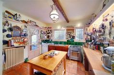 Julia Child's kitchen in France (vacation cottage, not the earlier apt in Paris)