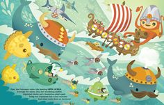 the Octonauts Explore the Great Big Ocean   A page from our …   Flickr - Photo Sharing!