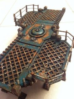 3D Deathwatch gameboard! Necromunda, Inquisitor, Inquisimunda, Inq28, wh40k, Genestealer Cult.
