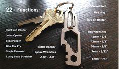 microSHARK & ROCKET Hex™ Awesome G5 Titanium Multi-Tools EDC by Creative TV llc — Kickstarter