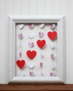 Floating Heart Wall Art for Valentine's Day
