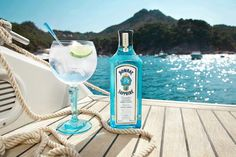 A piece of paradise. Let your mind drift to somewhere exotic with a #BOMBAYSAPPHIRE Ultimate Gin & Tonic.