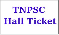 TNPSC Sub Inspector of Fisheries & Foreman (Marine) Exam Call Letter: Tamil Nadu Public Service Commission (TNPSC) has recently released call letter for attending examination for the posts of Sub Inspector of Fisheries & Foreman (Marine) of Advt No. 18/ 2016. Examination will be held on 11-12-2016. Candidates who have applied for this posts can download their call letter at below link…