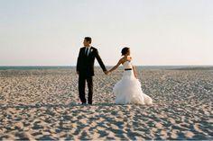 Beach wedding? Sounds like a good idea. :)