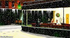 Christmas Eve at Nighthawks
