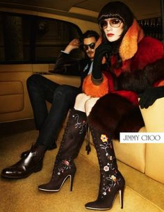 Jimmy Choo Fall 2012 Campaign by Terry Richardson