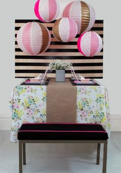 DIY To Try: Party Backdrops | theglitterguide.com