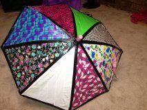 Duct Tape Umbrella Ideas