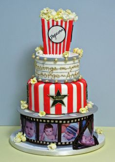 Movies Themed Cake