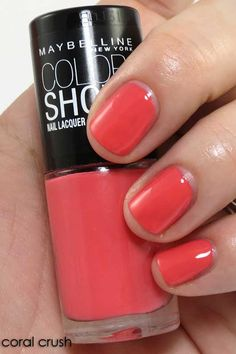 Coral Crush - Maybelline Color Show
