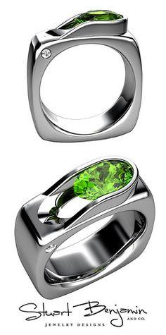 I like a lot! Custom Men's ring CAD Render
