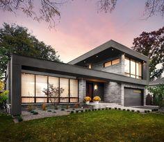 Двухэтажный дом в Торонто от Urban Development - Дизайн интерьеров | Идеи вашего дома | Lodgers