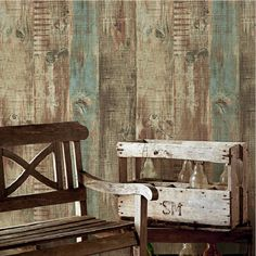check discount european vintage mural wallpaper wood striped flock wall paper papel de parede tapete #wall #insulation