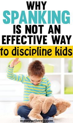 Is spanking an effective way to discipline kids? Learn how spanking affects children and how the alternatives help to enforce better behavior. Toddler Chores, Toddler Discipline, Chores For Kids, Positive Discipline, Toddler Preschool, Toddler Schedule, Toddler Boys, Gentle Parenting, Parenting Books