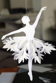 Faire une ballerine en papier, tutoriel