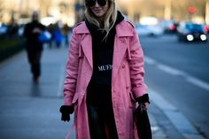 Paris Fashion Week Fall 2016 Street Style, Day 2 - -Wmag
