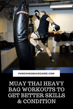 Find the best Muay Thai heavy bag workouts and drills here to improve your skills and condition. Learn how to use the bag the right way. Home Boxing Workout, Mma Workout, Kickboxing Workout, Workout At Work, Fit Board Workouts, Muay Thai Gym, Muay Thai Kicks, Muay Thai Training Workouts, Body Workouts