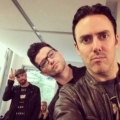 The Script. I think this picture explains exactly how each of them are haha. Classic.