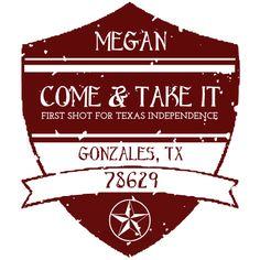 Megan is cheering on Ewan from Gonzales, Texas!