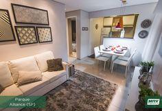Conheça o MRV Decora, dicas especiais para você deixar o seu lar ainda mais aconchegante. Home Staging, Home Decor Furniture, Home Decor Bedroom, Room Interior, Interior Design, Modern Bungalow, Little Houses, Small Apartments, Decoration