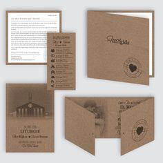 Trouwkaart Ilco en Sharida, ontworpen door Ontwerp Studio Rottier