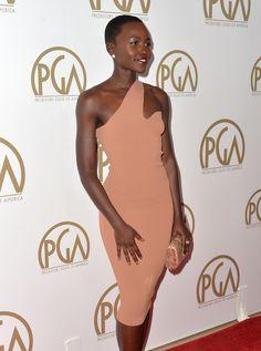 Lupita Nyong'o 's,Stella McCartney at the Producers Guild Awards
