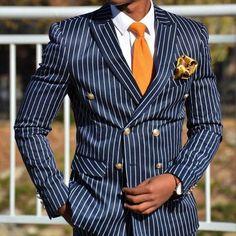 Classic Color Combinations in Menswear Mens Fashion Blog, African Men Fashion, Mens Fashion Suits, Mens Suits, Fashion Blogs, Cheap Fashion, Fashion Ideas, Womens Fashion, Blue Suit Men