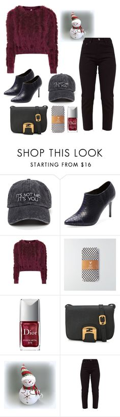 """""""Cozy fur styles"""" by anujith ❤ liked on Polyvore featuring Alice + Olivia, Topshop, American Eagle Outfitters, Christian Dior and Fendi"""
