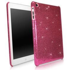 BoxWave Apple iPad mini Glamour & Glitz Case - Sleek Form-Fitting Protective Shell Case w/ Sparkly Glitter Design - iPad mini Cases and Covers (Cosmo Pink) Cute Ipad Cases, Ipad Mini Cases, Ipod Cases, Tablet Cases, Cosmo, Iphone Cases Quotes, Walpaper Iphone, Gif Disney, Best Ipad
