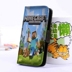 Minecraft Pocket | Games | Wallet Case | iPhone 4 4S 5 5S 5C 6 6+ Case | Samsung Galaxy S3 S4 S5 Cover | HTC Cases - jackandgeorges