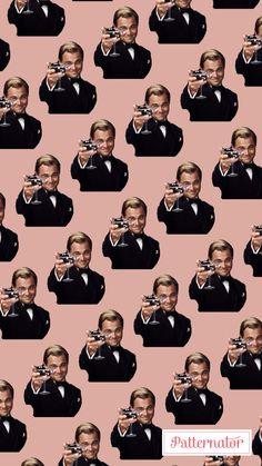 #pattern #wallpaper #iphone #background #colorful #leonardodicaprio #truestory #drink #cheeky #smile