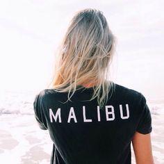Malibu Back black t shirt - Freshtops Marketplace Malibu Barbie, Material Girls, Looks Cool, Like4like, Summer Outfits, Street Style, Bikini, T Shirts For Women, My Style