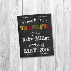Share your big news with friends and family in a creative way :) Would make a great photo prop for expectant parents to hold! You will