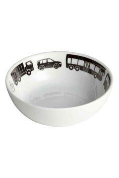 Porcelánová miska: Porcelánová mistička s tištěným motivem na vnitřní straně. Průměr 13 cm, výška 4 cm.