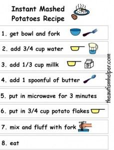 Instant Mashed Potato Recipe! by theautismhelper.com