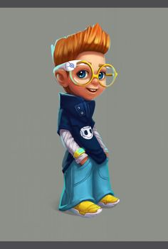 Four-eyed (character design) on Behance