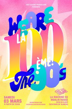 Ilk — Flyer for We Are The 90s