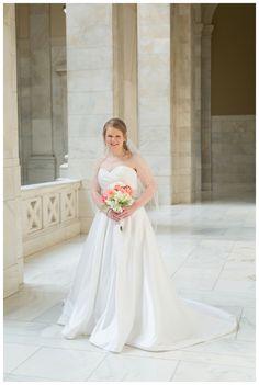 Arkansas State Capitol Bridal Session
