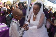 Boy renews vows with wife 50 years his senior