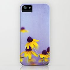 Lilac and Yellow iPhone Case by Shilpa - $35.00
