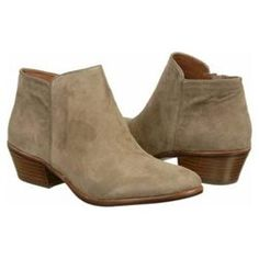 Sam Edelman Women's Petty (00017113437272) Make an appealing fashion statement in your Petty ankle boots from Sam Edelman.Soft suede or cowhair upper in a tailored ankle boot with a round toeAsymmetrical boot designSeamed edge detailsSide zipper for easy wearSmooth lining with a cushioned insoleSmooth stitched and partial traction outsole1 1/2 inch stacked heel