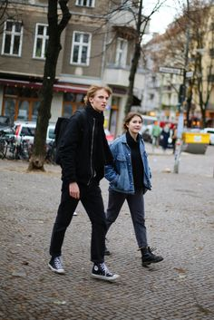 PHOTO BY Kirsten Kortebein. Street style at the Berlin Flea Markets.
